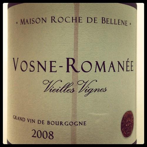 Maison Roche de Bellene Vosne-Romanee VV 2008
