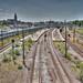 Multiple railways - Copenhagen, Denmark