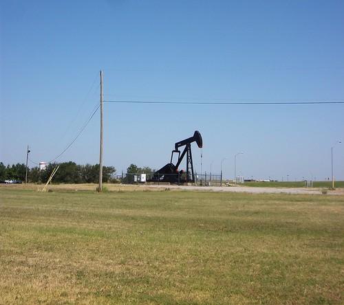 random oil drill