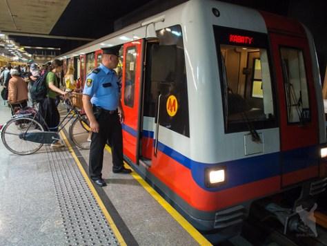 ワルシャワの地下鉄