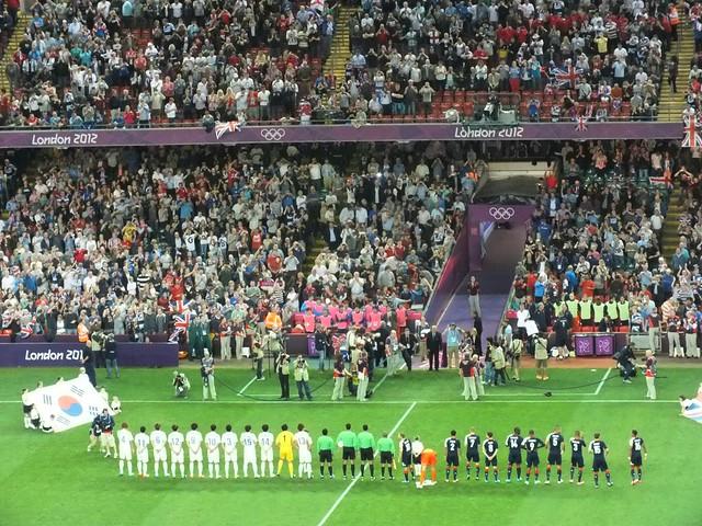 OLYMPICS-Team GB v South Korea