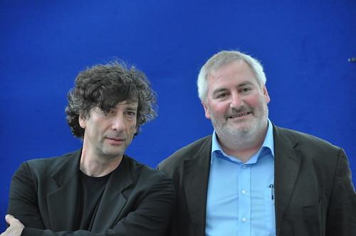 Neil Gaiman and Chris Riddell