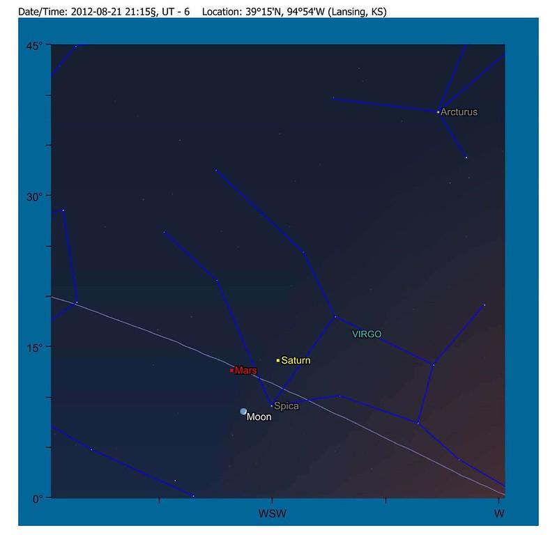 MarsSaturnSpicaWaxingCrescentMoon21Aug2012-2115