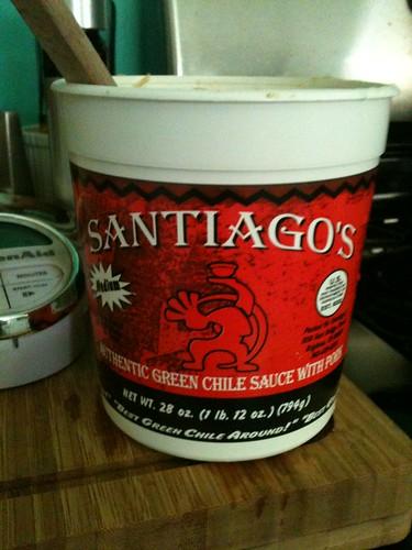 Santiago's Green Chili