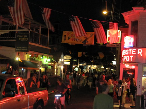 Provincetown on Friday night