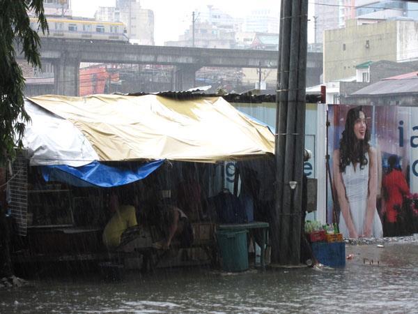 Rain in Sta. Cruz