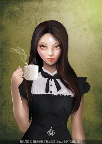 Amelia (Cameo Portrait) by Eleland