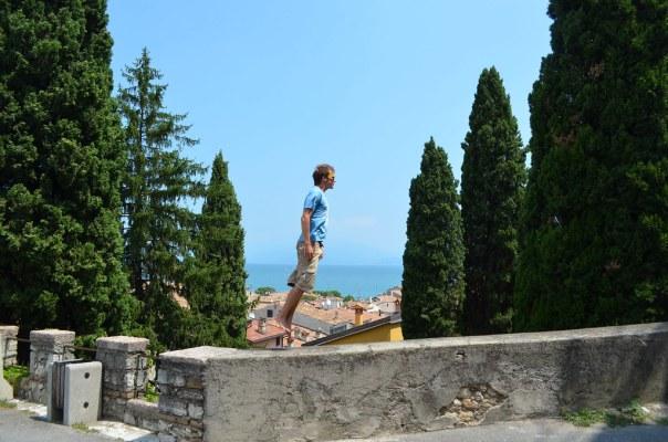 A wall Desenzano Del Garda