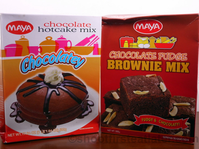Maya Chocolate Hotcake and Brownie Mix