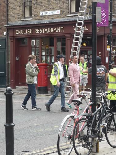 Robbie Williams anteprima foto nuovo video Londra agosto 2012 by catepol