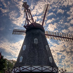 Old Dutch Windmill in Elk Horn, IA - HDR