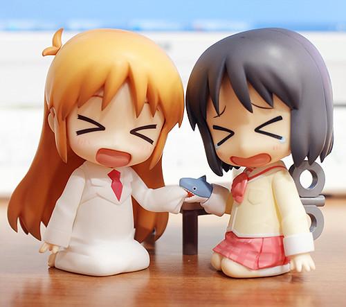 Nendoroid Hakase and Nano