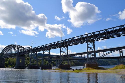 Three bridges, Minnesund