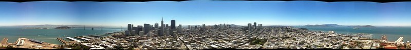San Francisco from Coit Tower...