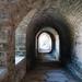 Ancient passageway in  Pirita Convent - Tallinn, Estonia
