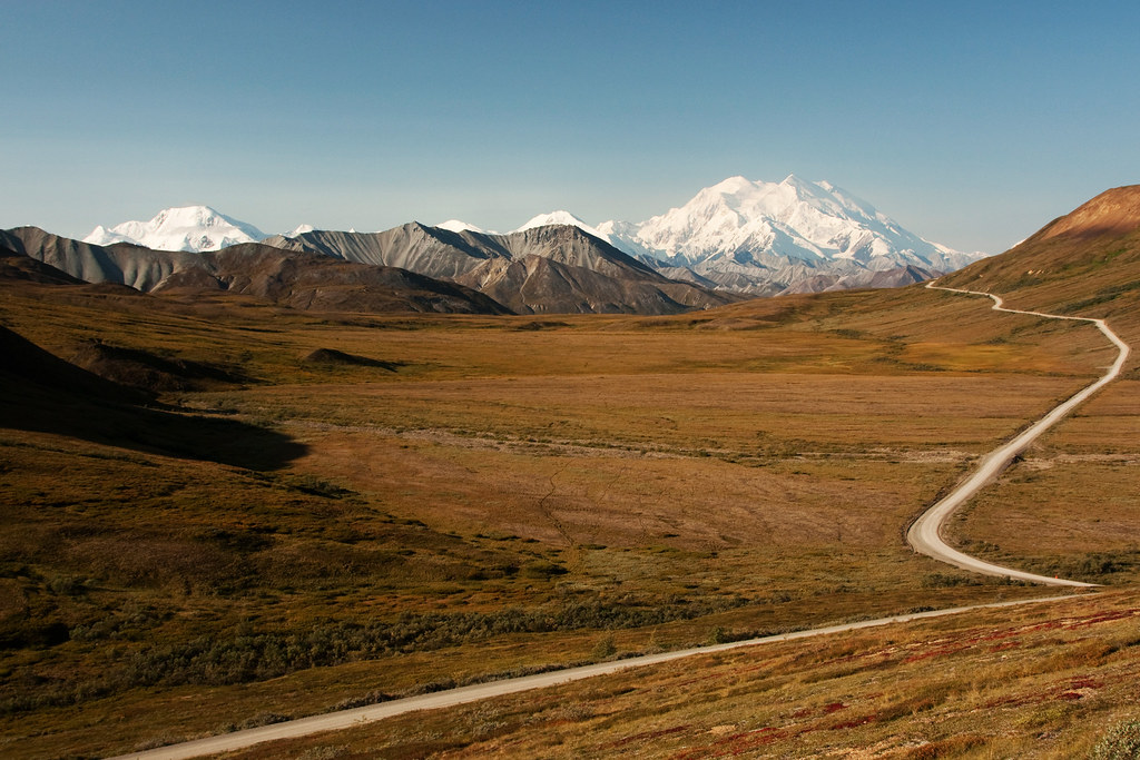 Mt McKinley on a Clear Day