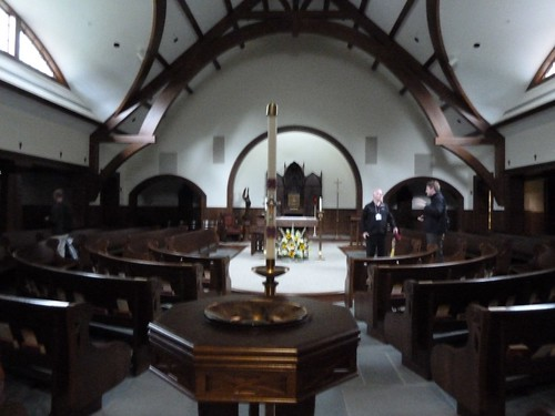 Interior, Mercy Chapel