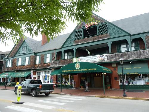 Newport Casino from Bellevue Avenue