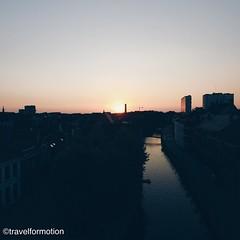 #sunset 14/9 #ghent #city #gent #visitgent #landscape #colours #skyscrapers #vsco #vscocam #aerialphotography #wanderlust #travel #travelgram #belgium_unite #belgium #igbelgium