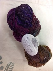 Hand Dyed Yarn Alpaca with a twist jaquard acid dyes