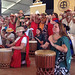 The University of Hawaii performs in Smithsonian Folklife Festival opening ceremony on June 27.