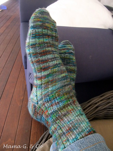 Ribbed Socks (2)