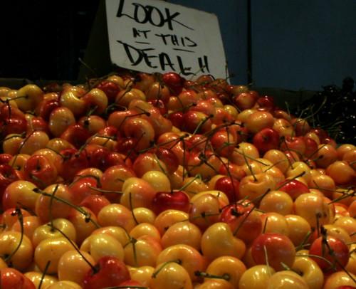 Soulard Market Rainier Cherries