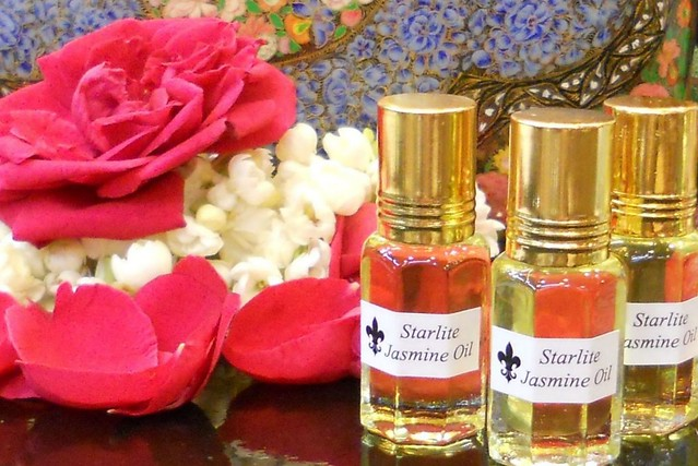 Pure Jasmine Oil Absolute Perfume - All Natural Aromatherapy Essential Oil ~ Bridal Perfume