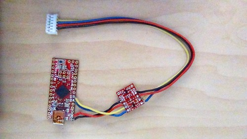 monotribe with USB: ATMega 32u4 and Voltage Converter