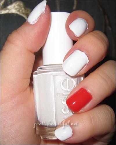 Essie Blanc : essie, blanc, Essie, Blanc,, Calypso,, Cherry, Tutorial,, Lagoon