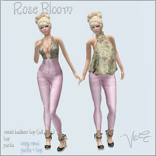 Rose Bloom -VicE- Victoria Endsleigh