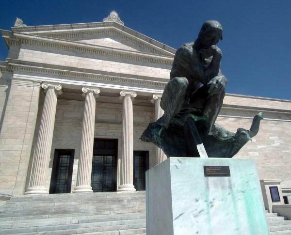 Thinker Cleveland Museum Of Art - Sharing