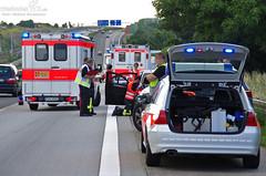Verkehrsunfall A3 bei Breckenheim 07.07.12