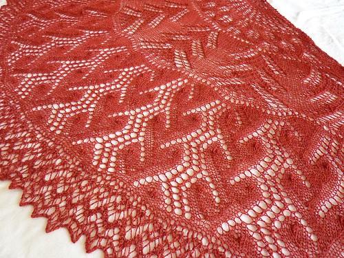 Progression shawl