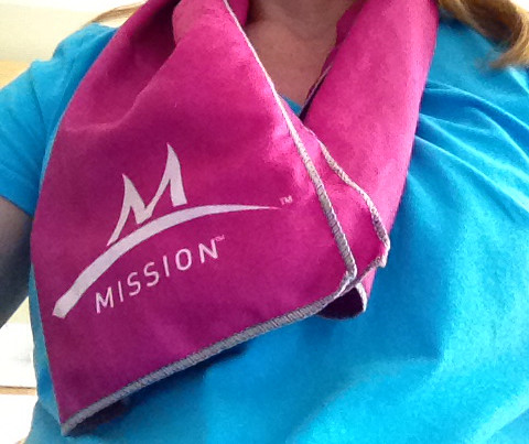 Enduracool Cooling Towel by Mission Athletecare