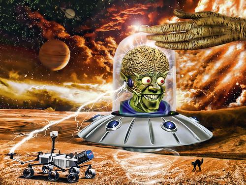Obama's Mars Attack!