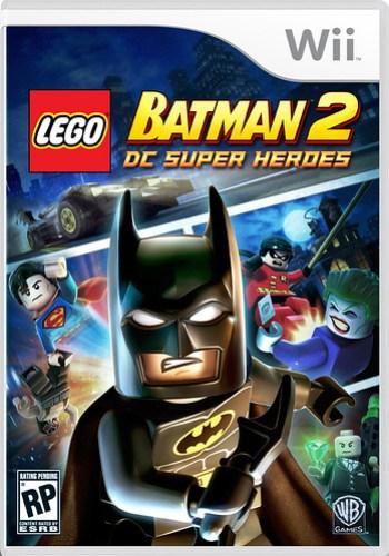 LEGO Batman 2 Wii Cover