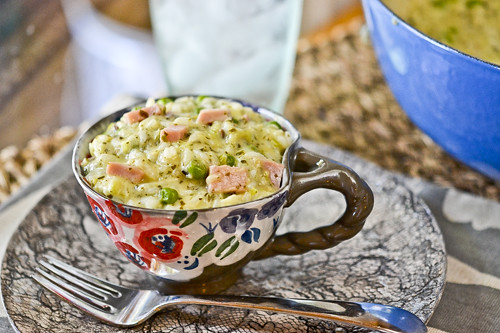 Risotto With Pesto and Peas 1