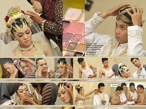 Foto Pernikahan on Kolase Album Wedding Book by Indonesian Photographer by POETRAFOTO - Fotografer Yogyakarta Indonesia