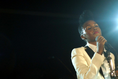 Janelle Monae, Obama For America Rally, ArtsCenter, Carrboro NC, 08/04/12