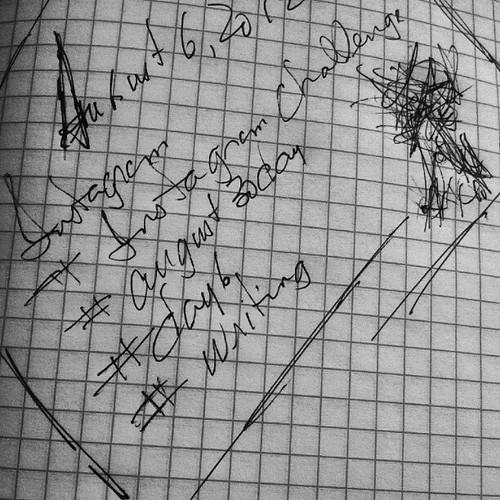 08.06.2012 :: 366/219 :: Writing by Echo9er