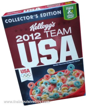 Kellogg's 2012 Team USA Cereal