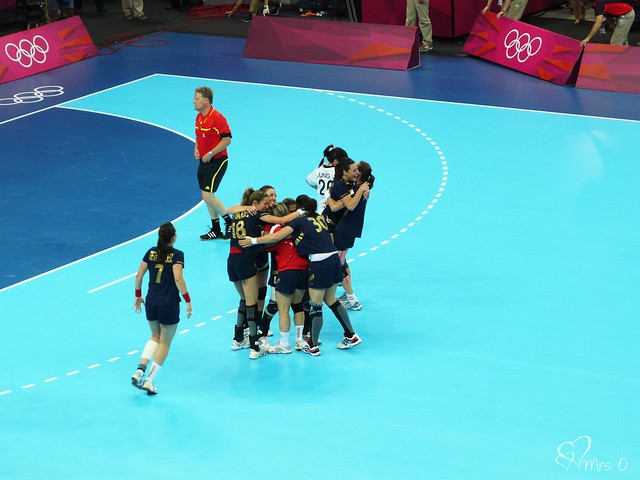 Bronze Medal Handball Match, Spain v Korea