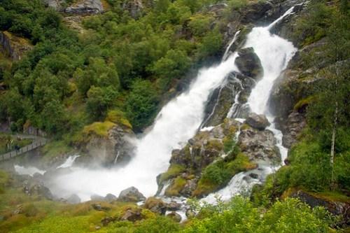 262 Parque Nacional Jostedal - Glaciar Briksdal