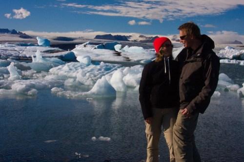 At Jökulsarlon - The Glacier Lake