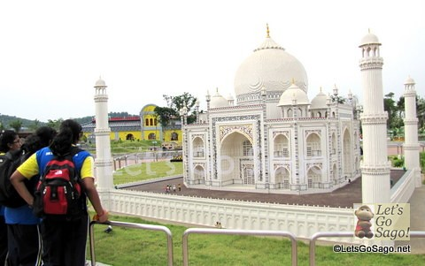 Taj Mahal Lego Scale Model (1:20)