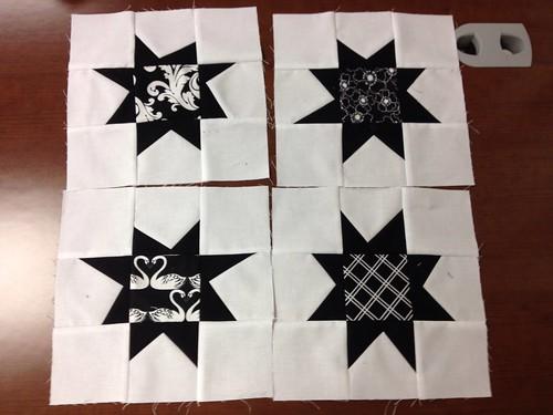 Sew In Wonky Stars