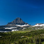 View from Logan Pass Visitor Center