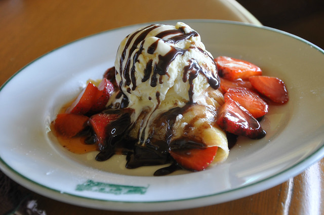 Strawberry Crepe