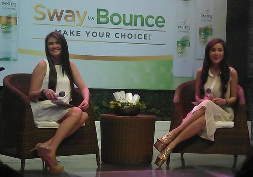 Angelica Panganiban and Christine Reyes for Pantene Total Nature Care